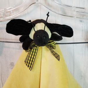 Bearington Collection Lovey Blanket Bumblebee